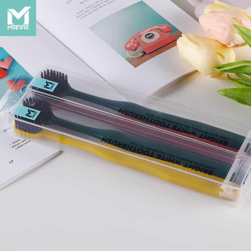 Wide-headed bright white toothbrush 911102 MIEVIC/米薇可