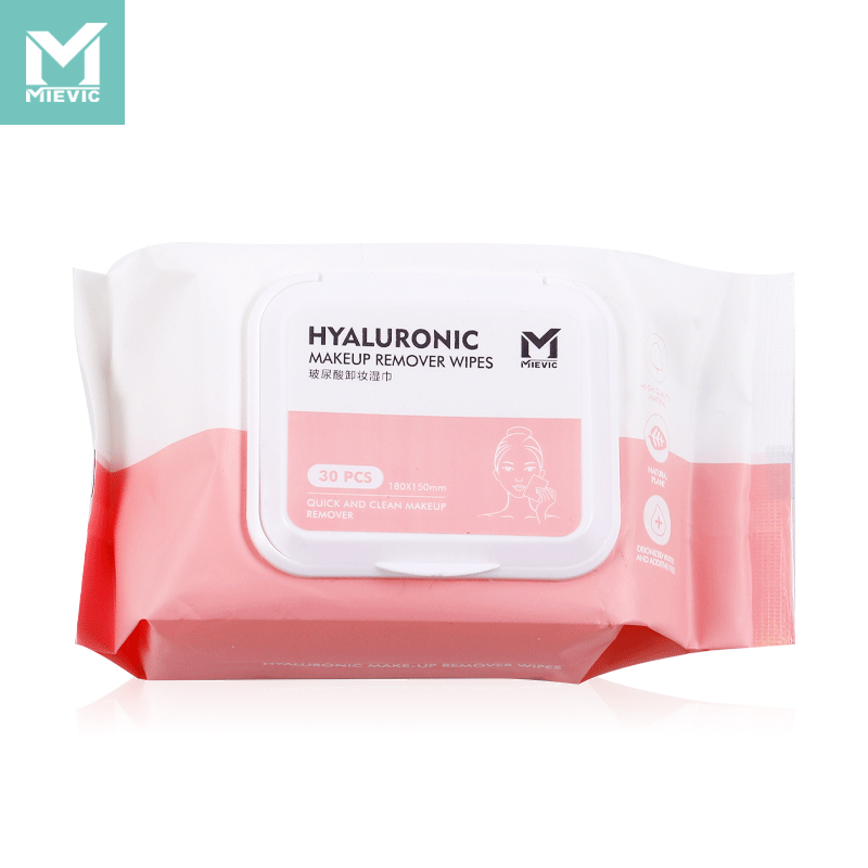Hyaluronic acid makeup remover wipes /30 pieces 602253 MIEVIC/米薇可