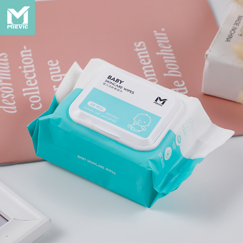 Baby skin cleaning wipes (no added ultrapure water) /30 pieces 602260 MIEVIC/米薇可